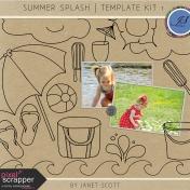 Summer Splash- Template Bundle 1