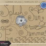Summer Splash- Template Bundle 2