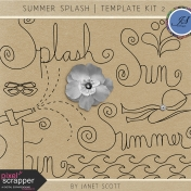 Summer Splash- Template Bundle 2