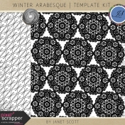 Winter Arabesque- Template Kit