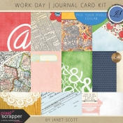 Work Day- Journal Card Kit