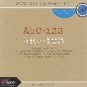 Work Day- Alphabet Kit