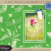 A Bug's World- Chalkboard Kit 2