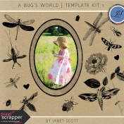 A Bug's World- Template Kit 1