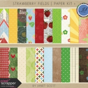 Strawberry Fields- Paper Kit 1