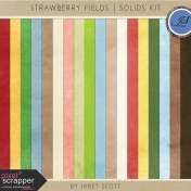 Strawberry Fields- Solid Paper Kit