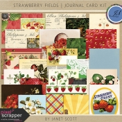Strawberry Fields- Journal Card Kit