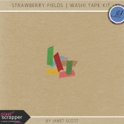Strawberry Fields- Washi Tape Kit