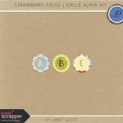 Strawberry Fields- Circle Alphabet
