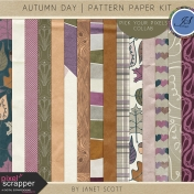 Autumn Day- Paper Kit