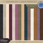 Autumn Day- Solid Paper Kit