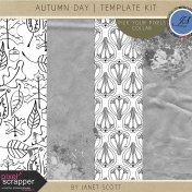 Autumn Day- Template Kit