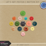 Let's Get Festive- Button Kit
