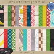 Let's Get Festive- Paper Kit