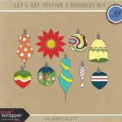Let's Get Festive- Ornament Doodle Kit