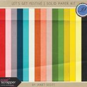 Let's Get Festive- Solid Paper Kit