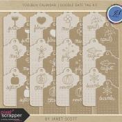 Toolbox Calendar 2- Doodle Date Tag Kit