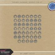 Toolbox Calendar 3- Doodle Coin Kit