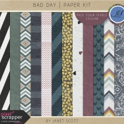 Bad Day- Paper Kit