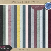 Bad Day- Solid Paper Kit