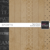 Sports Papers Neutrals Kit