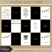 Shopping Pocket Cards Kit