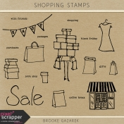 Shopping Stamps Kit