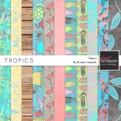 Tropics Papers Kit