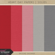 Heart Day Papers Solids Kit
