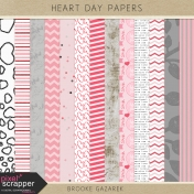 Heart Day Papers Kit