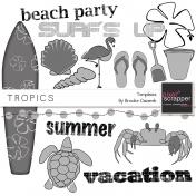 Tropics Templates Kit