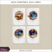 Mug Paintings 3x4 Cards