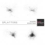 Splatter Brushes Kit