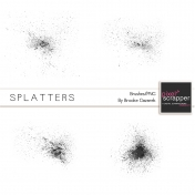 Splatter Brushes Kit