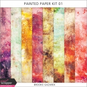 Painted Paper Kit 01