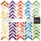 Football Painted Arrows Kit