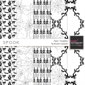 Spook Paper Templates Kit