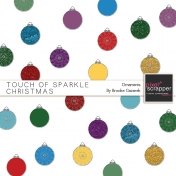 Touch of Sparkle Christmas Ornaments Kit