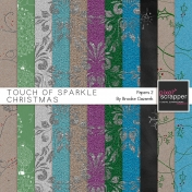 Touch of Sparkle Christmas Papers 2 Kit