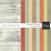 Encourage Solid Papers Kit