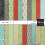 Snow Day Papers Kit