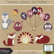 Thankful Harvest Felt Friends