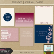 Changes- Journal Cards