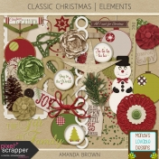 Classic Christmas- Elements