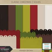 Classic Christmas- Solids