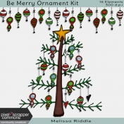 Be Merry Ornament Kit