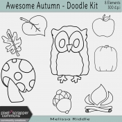 Awesome Autumn- Doodle Kit
