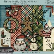 Retro Holly Jolly Mini Kit