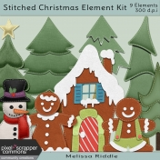 Stitched Christmas Element Kit