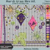 Mardi Gras Mini Kit- PS March 2019 Blog Train